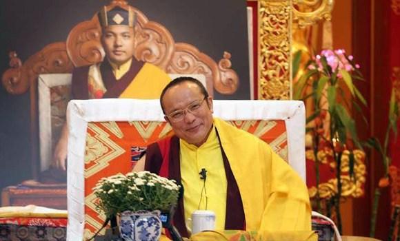 Premier enseignement en Europe du 12ème Chamgon Kenting Tai Situpa depuis plus de 20 ans